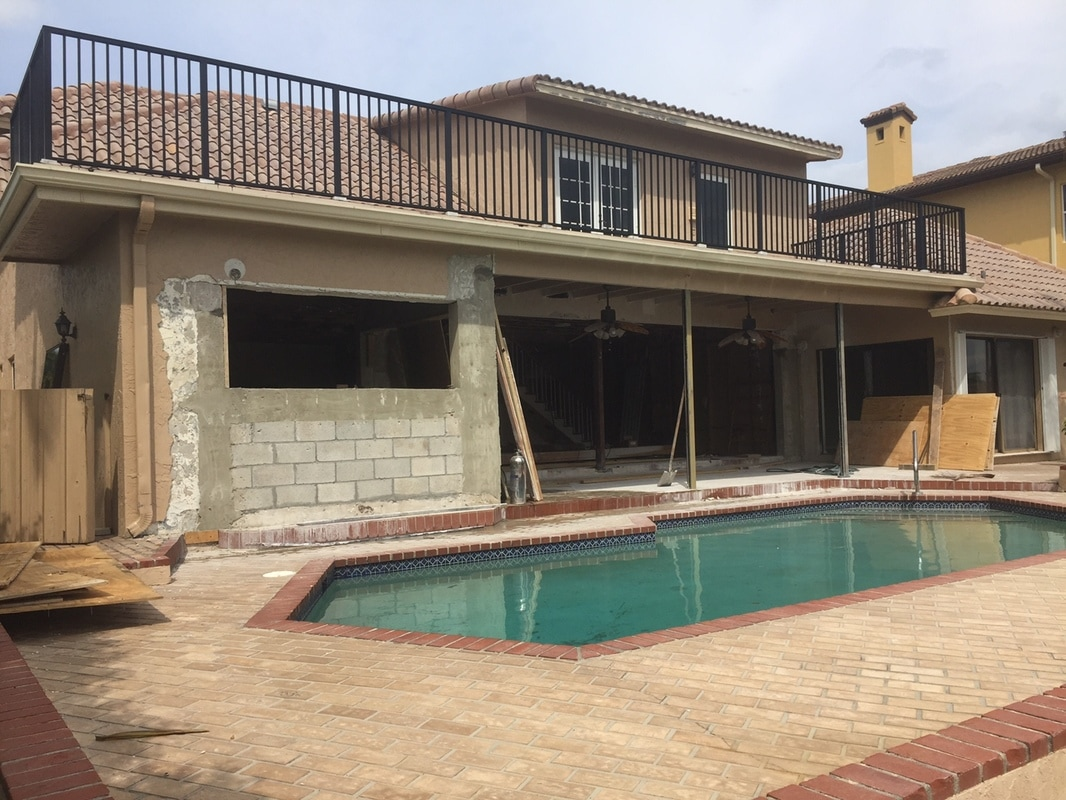 Residential Exterior remodeling pompano beach